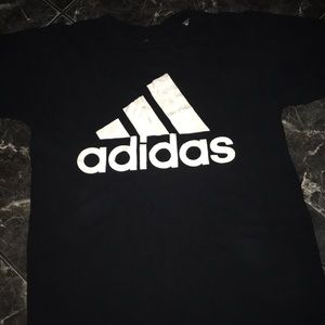 T-shirt with adidas logo